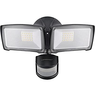 10W New Craft LED Flood Lights, Super Bright Outdoor Security Lights, 100W Halogen Bulb Equivalent, IP66 Waterproof, 800lm, 6500K, Daylight White,Floodlight