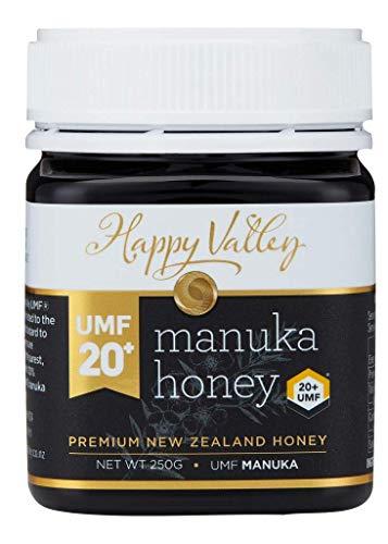 Happy Valley UMF 20+ Manuka Honing (MGO 829+), 250g (8.8oz)