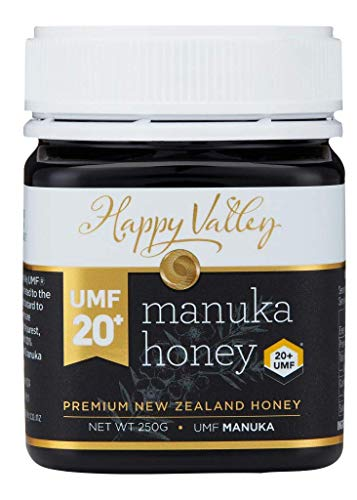 Happy Valley UMF 20+ (MGO 829+), Miel de Manuka - 250g