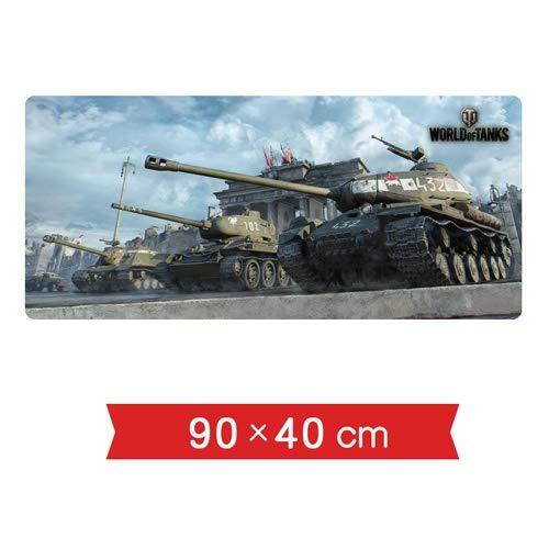 DMWSD Tabla ratón estera del cojín del juego World of Tanks vehículo IS-2 Heavy tanque T-34/85 SU-152 Soviética blindados de combate de vehículos de gran tamaño de la costura de deslizamiento juego pr