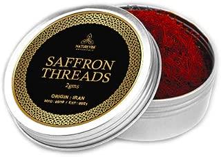 Naturevibe Botanicals Superior Saffron Thread -2gm, (Premium Quality Saffron)   Origin -Iran