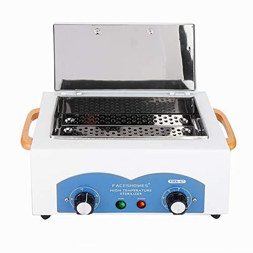 TARSHYRY Stérilisateur à air Chaud, stérilisateur Haute température 500 W, Acier Inoxydable, Armoire de désinfection à stérilisation Rapide, stérilisateur à air Chaud, pour cosmétiques, Tatouage(UE)