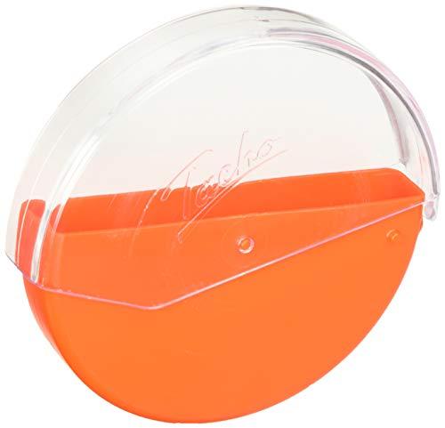 RNK 3099 - Aufbewahrungsbehälter für Diagrammscheiben, Kunststoff, Durchmesser 13 cm, Orange