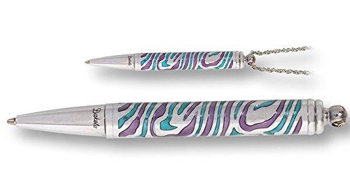 Mini Bolígrafo de diseño con Cadena para colgar del cuello. 10 cm. Dakota. 1 unidad