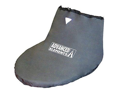 Advanced Elements Packlite Jupe, Spray Skirt for Kayaks Unisex-Adulto, Nero, Unisize