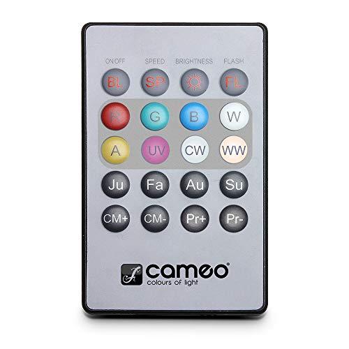 Cameo Light CLPFLAT1REMOTE infrarood afstandsbediening voor Flat PAR CAN koplampen
