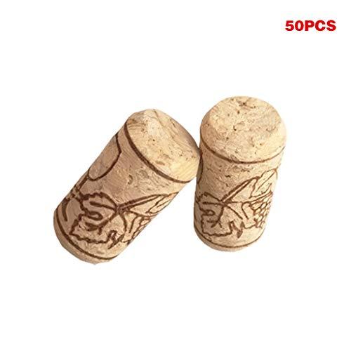 Ed Hardy hete 50 stuks eikenhout rode wijn flessendop