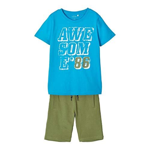 NAME IT Jungen Sommer Set T Shirt & Hose 134-140/9-10 Jahre