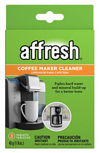 Affresh Coffee Maker Cleaner, 3 Tablets | Compatible with multi-cup coffeemakers and single serve brewers