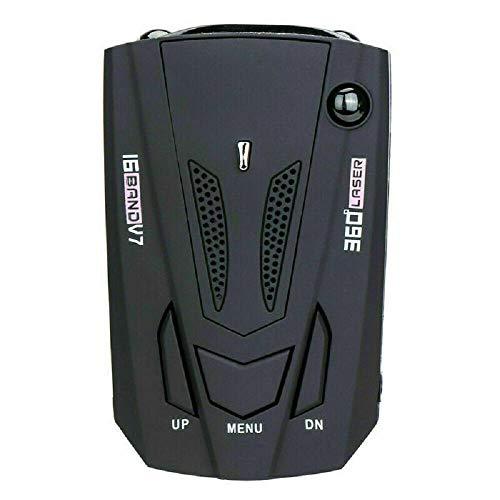 SD LED 360 Degree Car 16 Band V9 Speed Police Safe Radar Detector Voice Alert Laser