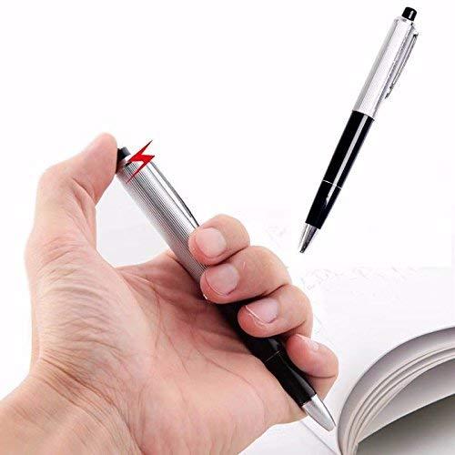 BSGP 2 Stück Elektrischer Schock-Kugelschreiber mit lustigem Scherzartikel.