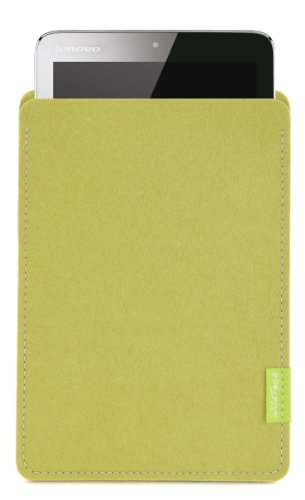 WildTech Sleeve für Lenovo IdeaPad MIIX2-8 - 17 Farben (Handmade in Germany) - Lindgrün