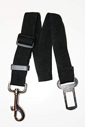 Universal Dog Leash Auto Car Automobile Seatbelt Adapter Seat Belt Dog Leash – BLACK