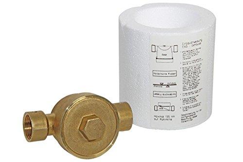 Einrohranschlussstück für Wohnungs-Wasserzähler Koax 2