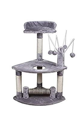 2016 New Cat Tree Scratching Post Scratch Activity Center Scratcher Pole Bed Toys