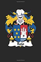 Rojo: Rojo Coat of Arms and Family Crest Notebook Journal (6 x 9 - 100 pages)