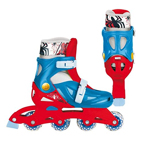 Mondo Motors - Jeu de Plein Air - Patins en Ligne - Spiderman - Taille L
