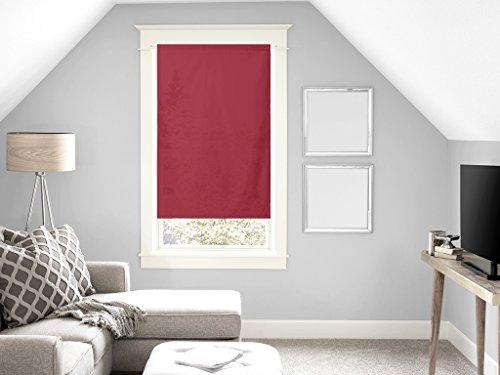 Soleil d'ocre Panama Brise Bise en Coton 45x90 cm Panama Coton Rouge 45 x 90 cm