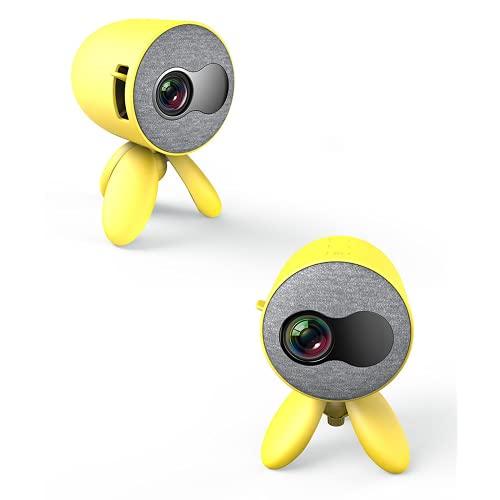 YG220 Teléfono móvil Mini proyector inalámbrico Inicio HD 1080P Proyector de niño LED portátil