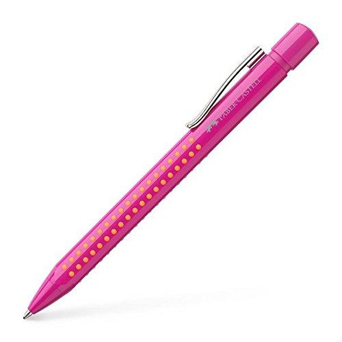 Faber-Castell 243901 - Kugelschreiber Grip 2010 M, rosa/orange