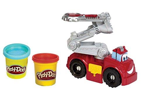 Play-Doh - A5418E240 - Pâte à Modeler - Super Camion Pompier
