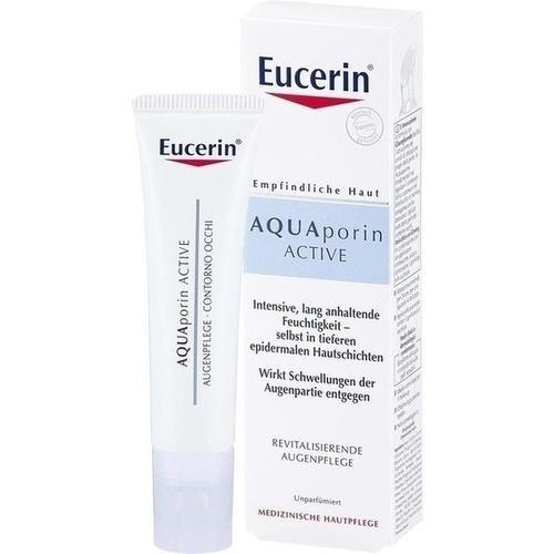 EUCERIN AQUAporin Active Augenpflege Creme 15 ml