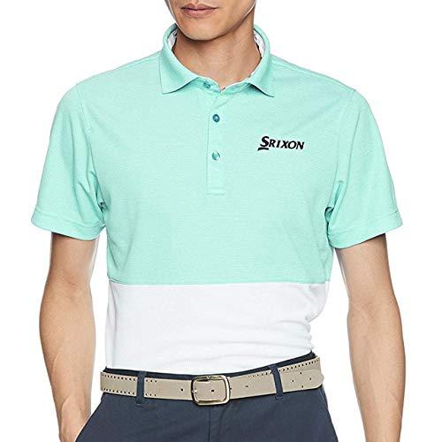 [スリクソン] 半袖シャツ RGMLJA15 メンズ EM00(エメラルド) 日本 LL-(日本サイズ2L相当)