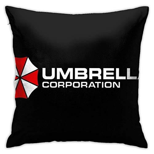 catty bluss Almohadas Fundas para Sofá Resident Evil Umbrella Corporation Cama Sala de Funda de Almohada sofá Funda de cojín decoración Funda de Almohada 50x50 cm