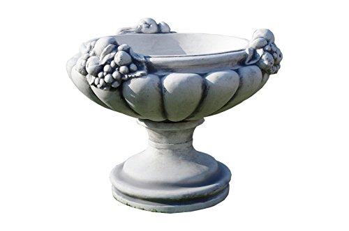 2 x Runde Blumenkübel Pflanzkübel Blumentopf Amphore Pflanzschale Steinmöbel H:58cm G: 82KG