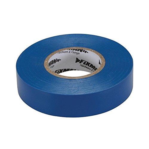 FIXMAN 187539 - Cinta aislante Azul 19 x 33 mm