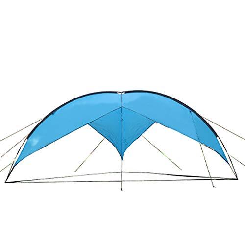 SMSJ-YJ Übergroße Triangular Himmel Vorhang Zelt im Freien Strand Shade Regen Zelt Grill Zelt Camping Camping (Color : A1)
