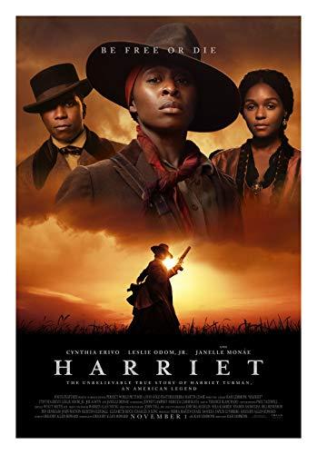 Harriet Movie Poster Glossy High Quality Print Photo Wall Art Cynthia Erivo, Leslie Odom Jr, Joe Alwyn Size 24x36#2