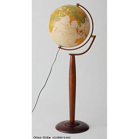 ORBYS 地球儀 マルコ37フロアスタンド 球径37cm アンティーク 44860