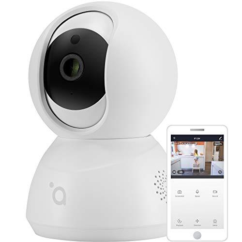 acme IP1204 WLAN IP Kamera Babyphone mit Kamera WLAN Kamera Überwachungskamera Innen Haustier Kamera Bewegungserkennung Nachtsicht 2-Wege Audio Micro-SD-Slot für bis zu 64 GB Karte
