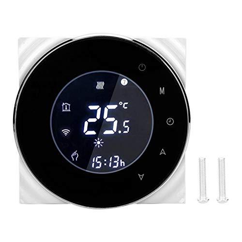 Termostato Riscaldamento intelligente, Termostato LCD digitale Touchscreen Controllo della temperatura dell'acqua del gas AC95‑240V 5A