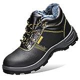 fayengan Zapatos De Seguridad Hombre Mujer, Punta De Acero...