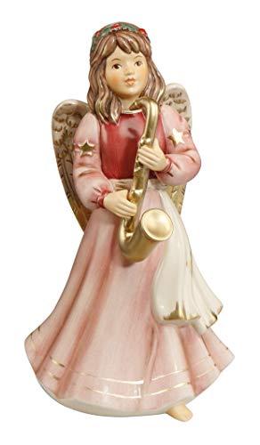 Goebel 41533041 - Gloriaengel 2020 - Motiv: Saxophonistin - Höhe: 20,5 cm - Gloria Engel - Neuheit