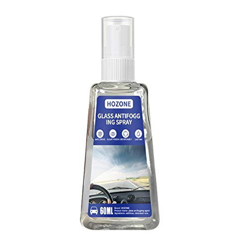 Anti-Nebel-Spray, Anti-Fog Auto-Glas Antibeschlagmittel, Antibeschlag Spray für Brillengläsern vor beschlagenden (60ML)