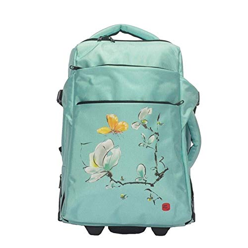 GQY Luggage - a backpack cloth suitcase hand luggage backpack - Lightweight travel cabin (Color : D, Size : 36 * 25 * 47cm)
