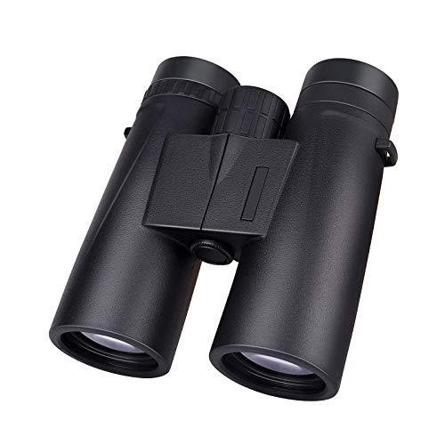 FJYDM Binoculares para Adultos, 10X42 Potentes Prismáticos con Visión Nocturna Clara con Poca Luz Binoculares Compactos para Observación De Aves Y Caza con Prisma BAK4