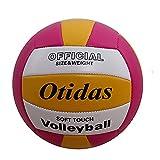 HONANA Voleibol de playa, tamaño 5 suave PU interior al aire libre voleibol para piscina juego gimnasio entrenamiento playa