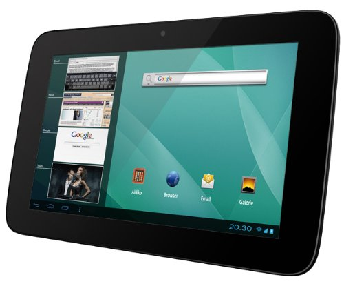 Odys Genio 17,8 cm (7 Zoll) Tablet-PC (IPS Display, 1.6 GHz Dual Core, 1 GB RAM, 8 GB HDD, Bluetooth 2.1, WLAN, HDMI, Android 4.1.x) schwarz-weiß