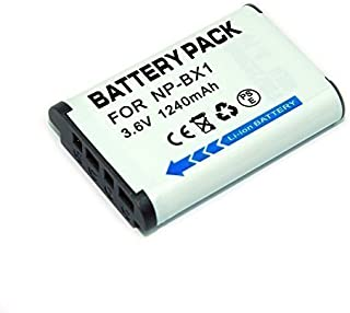 Remplacement NP-BX1 1240mah batería para Sony DSC-WX300 DSC-WX500 WX500 HX90V RX1 DSC-RX1 RX100 RX100 II  DSC-RX100 III RX100 III HX300 WX300 Digital Cameras FDR-X1000VR FDR-X1000V HDR-AS200VT HDR-AS200VB HDR-AS200VR