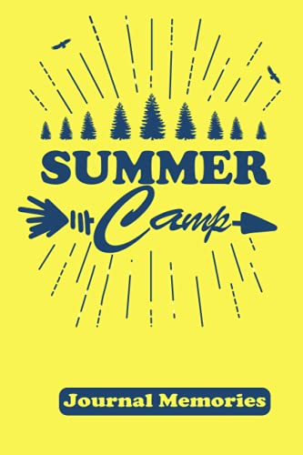 Summer Camp Journal Memories: Camping Journal, Camping Notebook, Kids Camp, Summer Vacation, Camping Memories Notebook, Campers gift, Summer Camp Diary, Girl, Boys