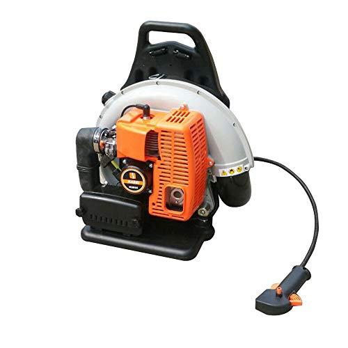 2-Stroke 65cc Petrol Backpack Gas Powered Leaf Blower,Zephyri Extremel Powerful 2.7KW/6800RPM Air-cooled Fast