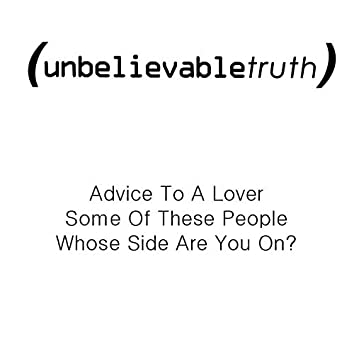 Advice to a Lover