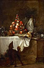 Steve Art Gallery The Buffet,Jean-Baptiste-Simeon Chardin,60x40cm