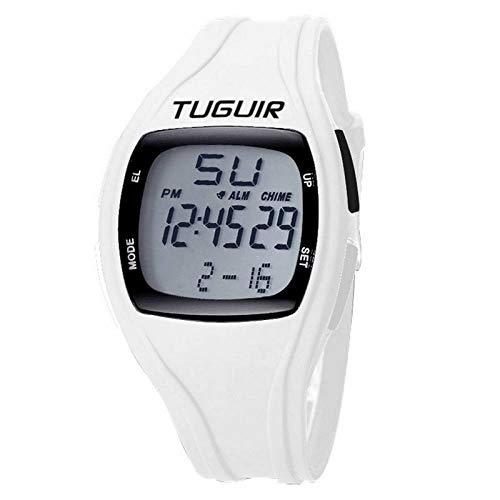 Relógio Masculino Tuguir Digital TG1602 - Branco