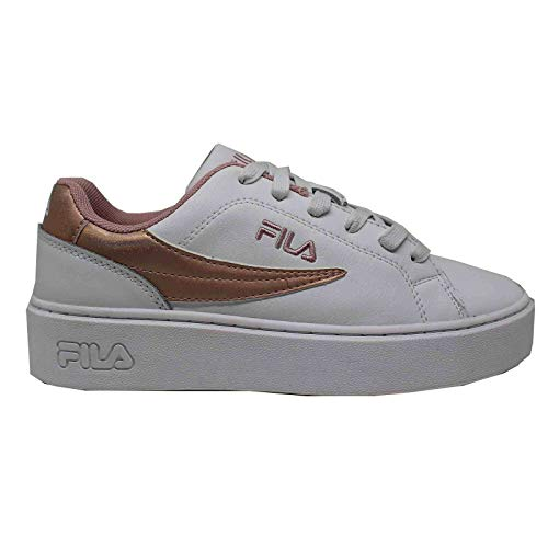 Fila Sneakers Overstate F Low Wmn Wit Dames Platform Mode - 41 Wit