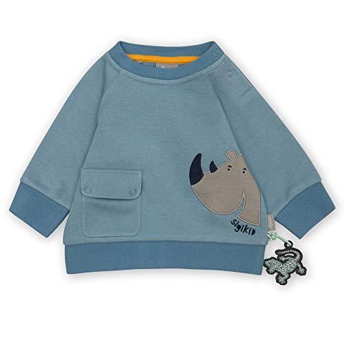 Sigikid Baby-Jungen Sweatshirt aus Bio-Baumwolle für Kinder